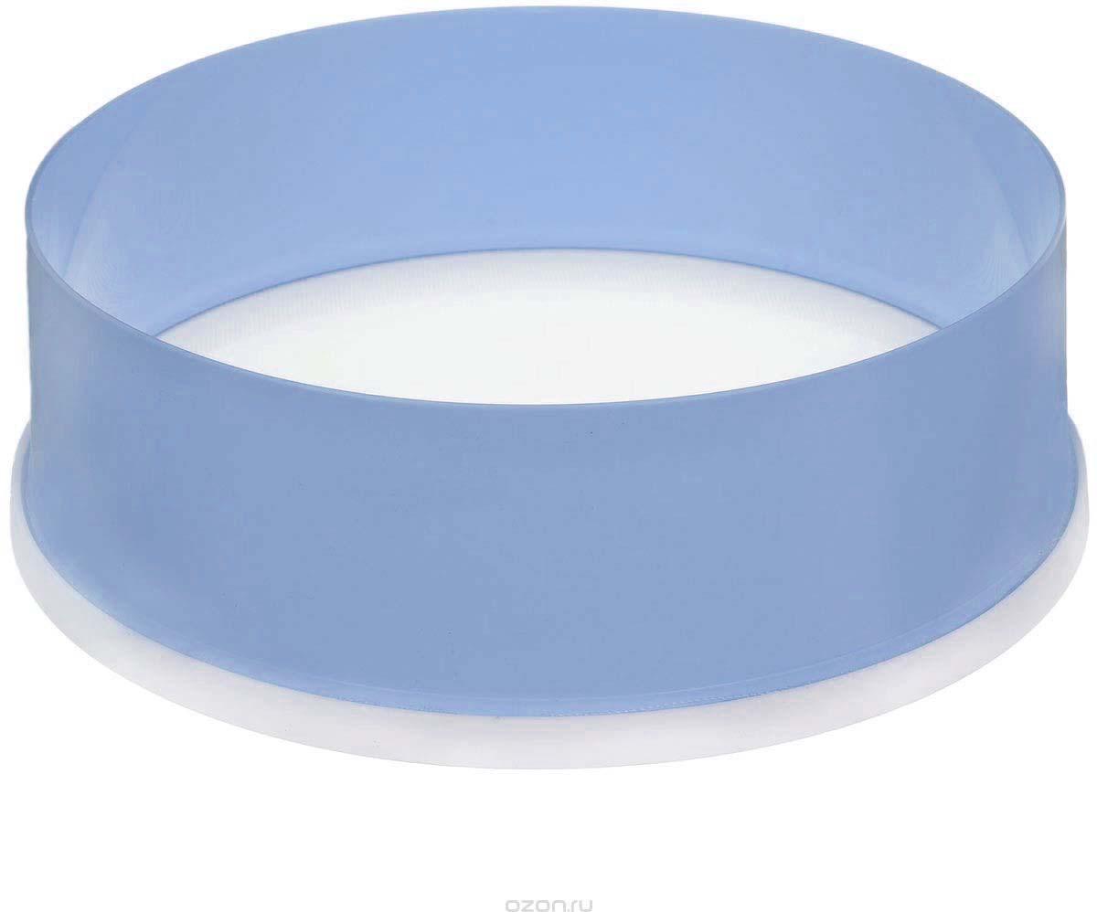 "Сито ""Альтернатива"", цвет: голубой, белый, диаметр 22 см"