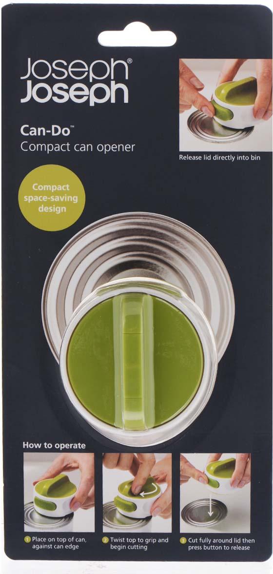 Фото - Нож консервный Joseph Joseph Can Do, цвет: белый, зеленый, диаметр 6 см нож консервный joseph joseph can do™ белый зеленый 20005