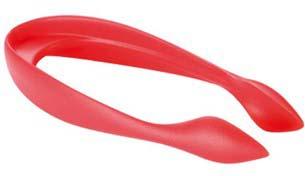 Удалитель сердцевины и хвостика из клубники Tescoma Presto, цвет: красный, длина 10 см удалитель косточек