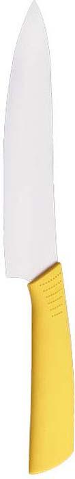 Нож кухонный керамический 17,5 см с желтой ручкой. 1508215U