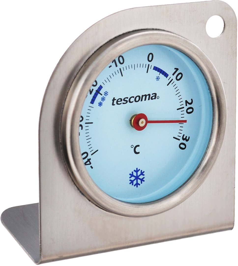 Термометр для холодильника Tescoma Gradius, цвет: серебристый термометр для холодильника стеклоприбор тб 3м1 исп 9