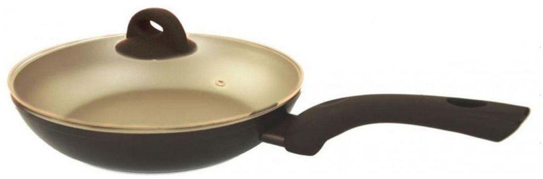"""Сковорода Beka """"Tiramisu"""" с крышкой, с антипригарным покрытием. Диаметр 26 см"""