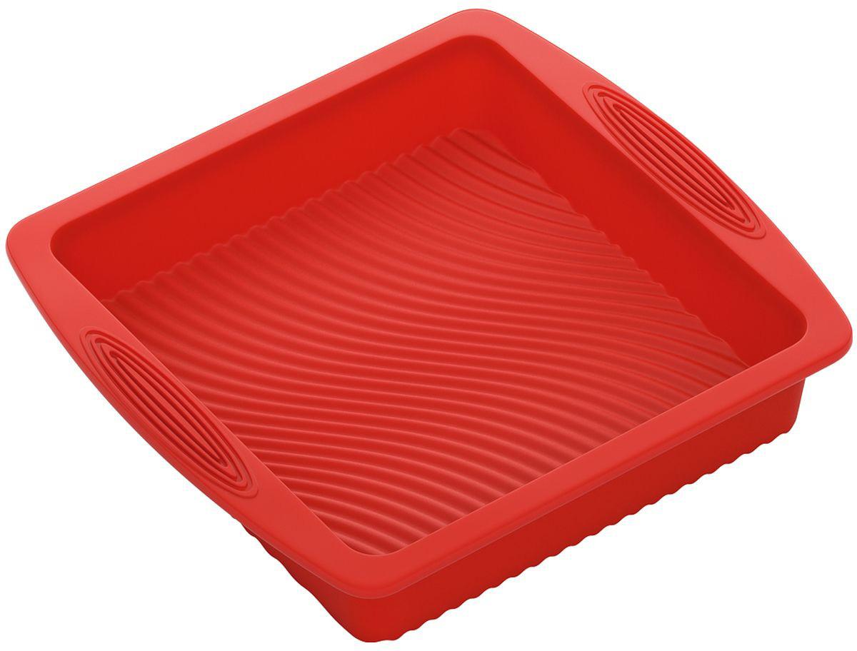 """Форма для выпечки Nadoba """"Mila"""", силиконовая, квадратная, 26 х 24 х 5 см"""