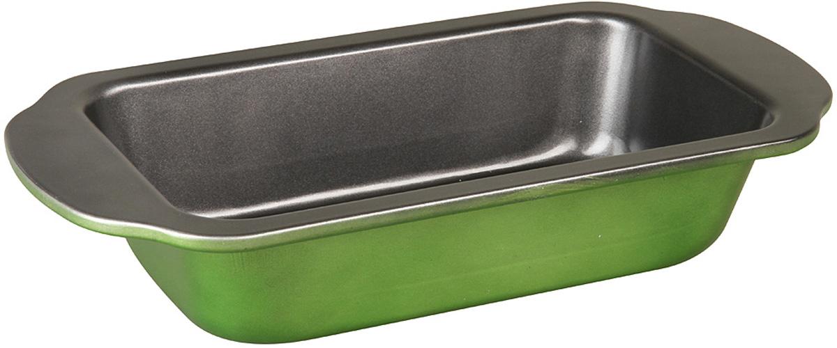 Форма для запекания Pomi d'Oro Dolcezza Verde, прямоугольная, с антипригарным покрытием, 31,5 х 16 см форма для запекания pomi d'oro pgl 580024 овальная 35 x 25 x 6 5 см