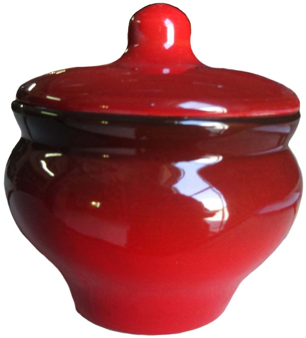 Горшочек для запекания Борисовская керамика Мечта хозяйки, цвет: красный, 350 мл. КРС14457932 горшочек для запекания борисовская керамика мечта хозяйки цвет зеленый розовый 350 мл