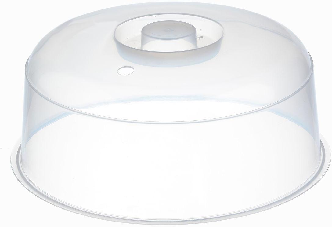 """Крышка для СВЧ """"Idea"""", цвет: прозрачный, диаметр 24,5 см"""