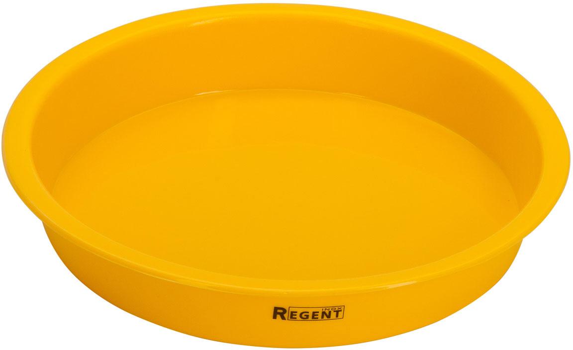 Форма для выпечки Regent Inox Silicone, 22х3,5 см форма для кекса regent inox silicone 30 17 5 3 8 см зеленый
