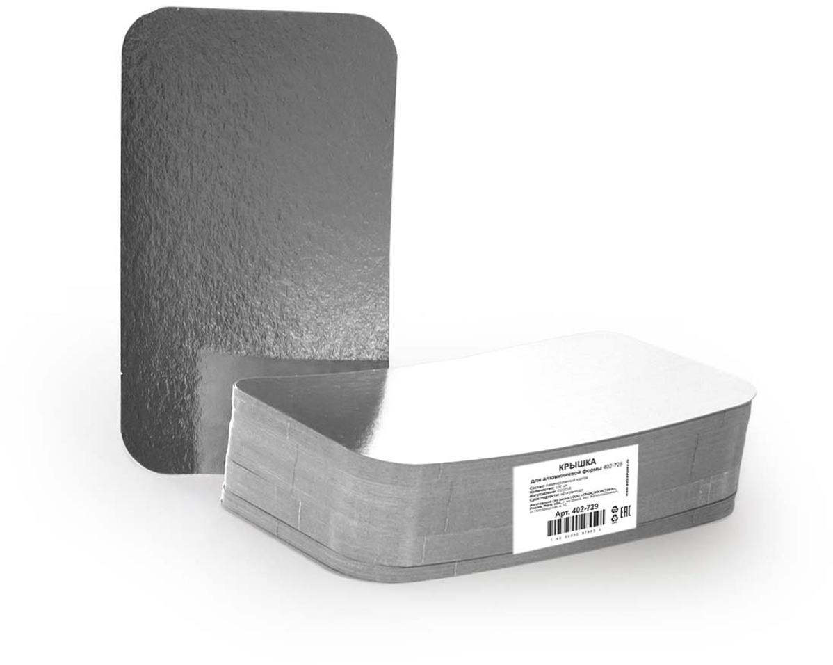 Крышка для формы Горница, 19,5 х 11,2 см, 100 шт формы