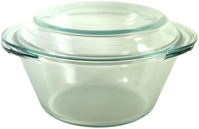 Кастрюля VGP, толстостенная, с крышкой, 1,5 л стеклянная кастрюля с крышкой helpina vgp k