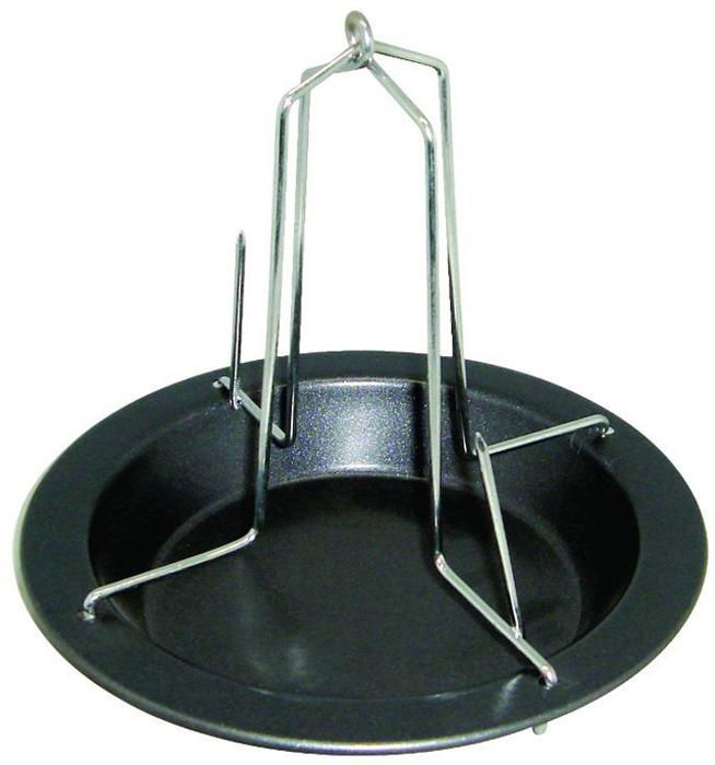 Форма для птицы-гриль Regent Inox Easy, 17 см противень глубокий с пластиковой крышкой 42х29х5 см regent easy 93 cs ea 2 08