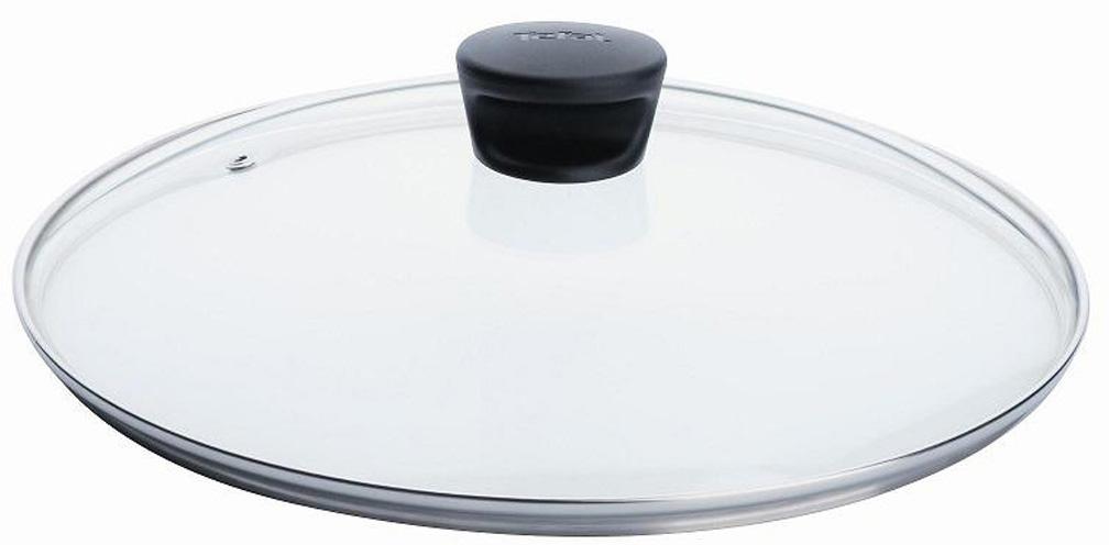 Крышка стеклянная Tefal. Диаметр 22 см крышка tefal d 22 см 04090122