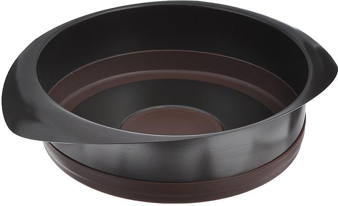 "Форма для выпечки Rondell ""Mocco&Latte"", диаметр 22 см"