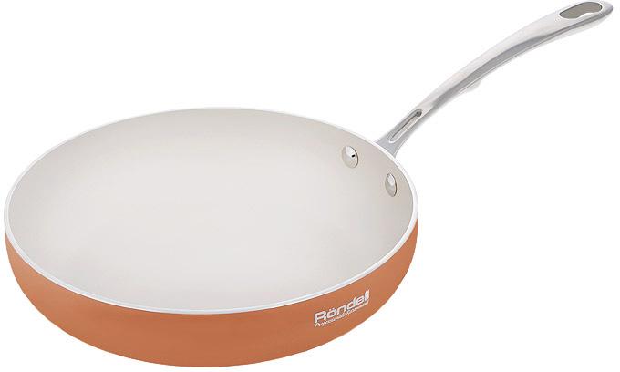 """Сковорода Rondell """"Terrakotte"""", с антипригарным покрытием. Диаметр 28 см. RDA-539"""