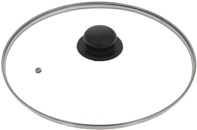 Крышка стеклянная Jarko. Диаметр 30 смКС*GTL30110Крышка Jarko, изготовленная из термостойкого стекла, позволяет контролировать процесс приготовления без потери тепла. Ободок из нержавеющей стали предотвращает сколы на стекле. Крышка оснащена отверстием для паровыпуска. Ненагревающаяся ручка выполнена из бакелита.