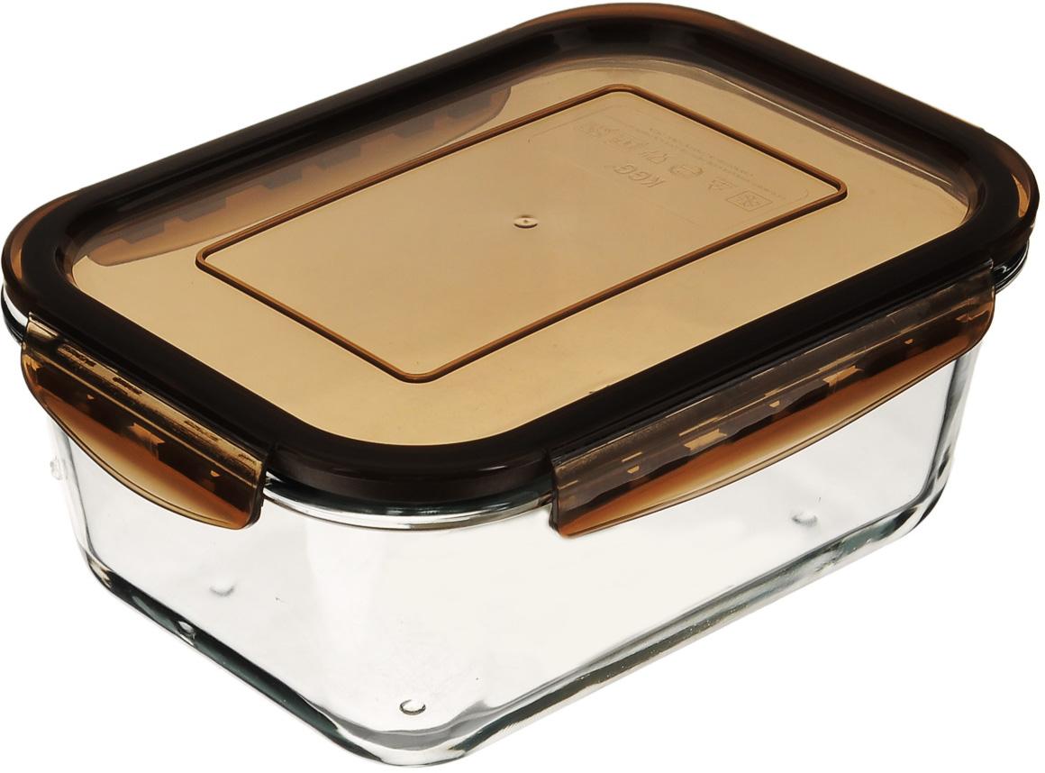 Форма для запекания Mijotex с крышкой, прямоугольная, цвет: коричневый, 21 см х 15 смLRE3CПрямоугольная форма для запекания Mijotex изготовлена из жаропрочного стекла, которое выдерживает температуру до +450°С. Форма предназначена для приготовления горячих блюд. Оснащена герметичной пластиковой крышкой с силиконовым уплотнителем для хранения продуктов. Материал изделия гигиеничен, прост в уходе и обладает высокой степенью прочности. Форма (без крышки) идеально подходит для использования в духовках, микроволновых печах, холодильниках и морозильных камерах. Также ее можно использовать на газовых плитах (на слабом огне) и на электроплитах. Можно мыть в посудомоечной машине. Размер формы (по верхнему краю): 21 см х 15 см. Высота стенки формы: 9 см.