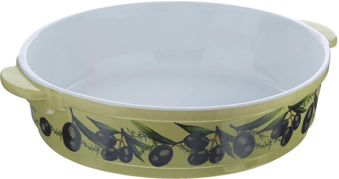 Форма для запекания Едим Дома Тоскана, круглая, диаметр 26 см форма для запекания едим дома тоскана круглая диаметр 26 см