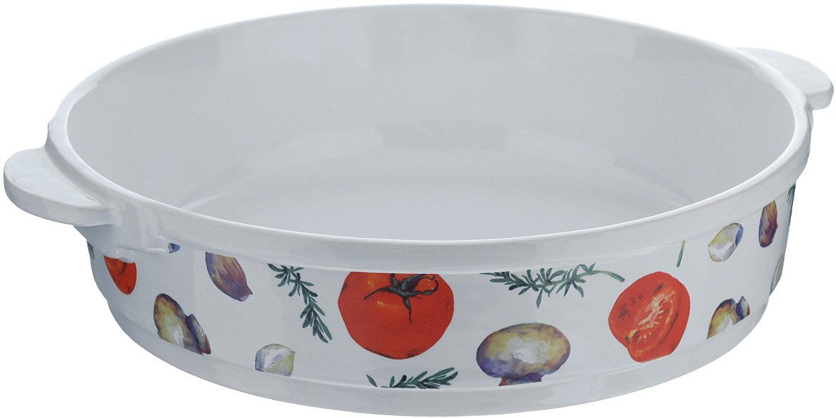 Форма для запекания Едим Дома Прованс, круглая, диаметр 26 см география материки океаны народы и страны 7 класс атлас