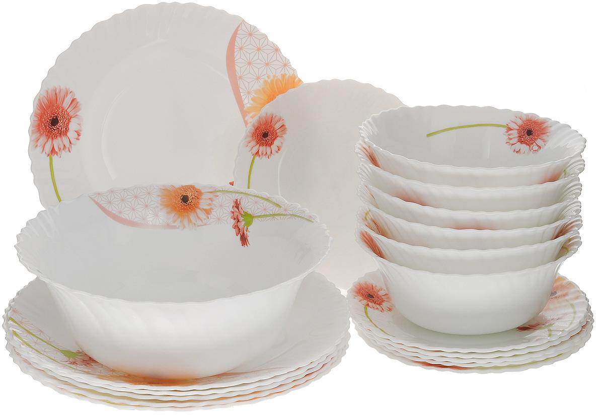 """Набор столовой посуды """"Mayer & Boch"""", 19 предметов"""