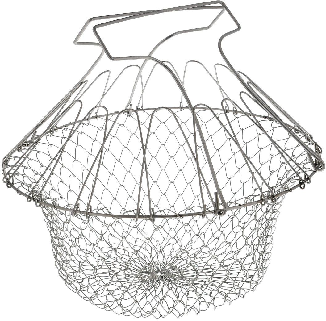 Решетка для приготовления пищи Bradex Chef Basket, складная контейнер для варки яиц bradex лентяйка td 0149