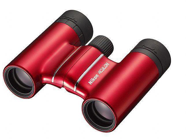"""Бинокль Nikon """"Aculon T01"""", 10x21, цвет: красный"""