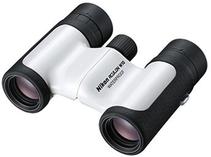 Бинокль Nikon Aculon W10 8x21, цвет: белый