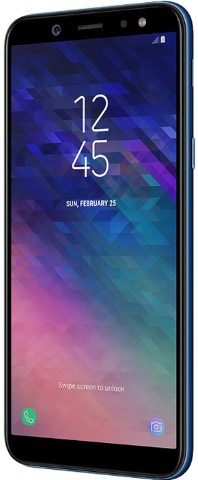 Смартфон Samsung Galaxy A6 3/32GB, синий