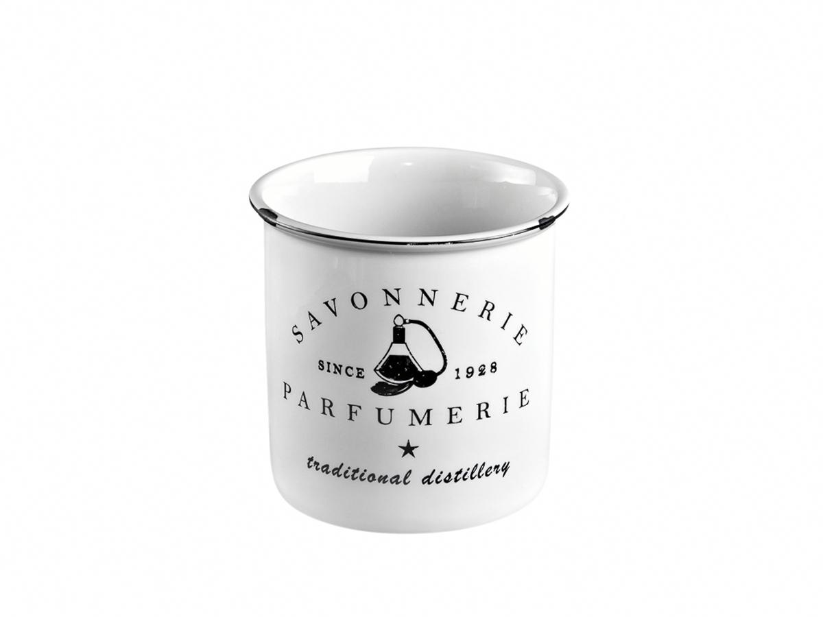 Стакан для зубных щеток Verran Parfumer, цвет: белый стакан д зубных щеток verran lavender