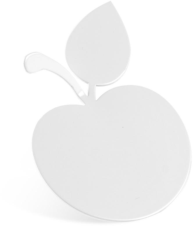 Крючок для ванной Moroshka Fairytale. Apple, цвет: белыйxx005-24Крючок Moroshka Fairytale. Apple выполнен из металла. Крепится при помощи клейкой ленты.