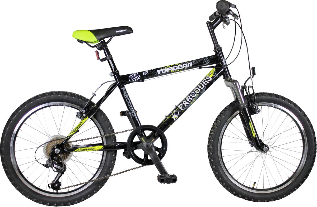 Велосипед детский Topgear, цвет: черный, колесо, 20