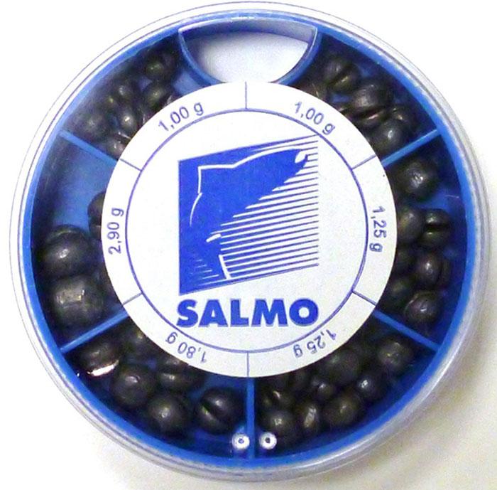 Грузила Salmo Дробинка PL, 6 секций, крупные. 1007-KP100