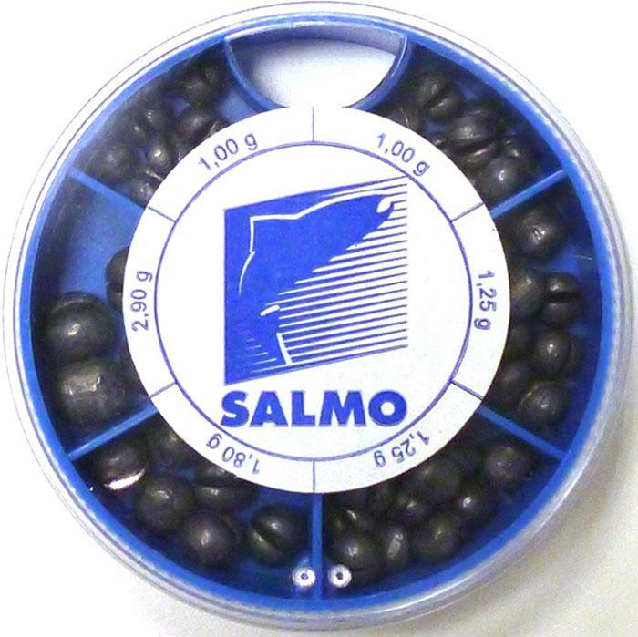 Грузила Salmo Дробинка PL, 6 секций, крупные. 1007-KP120