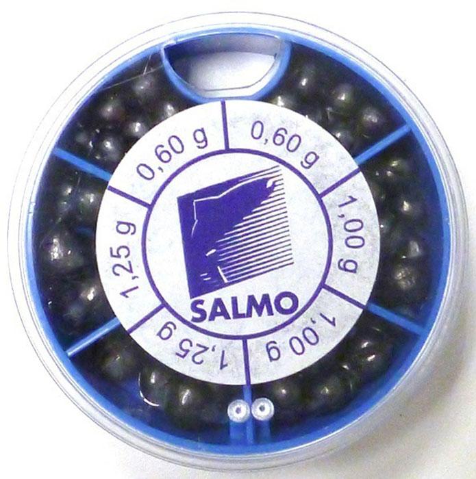 Грузила Salmo Дробинка PL, 6 секций, крупные. 1007-KP50