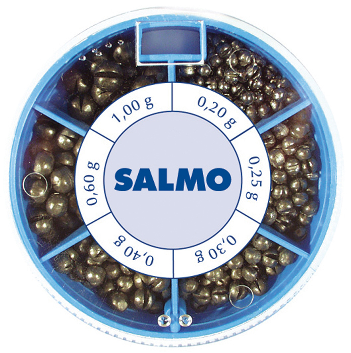 Грузила Salmo Дробинка PL, 6 секций, стандартные. 1007-ST50