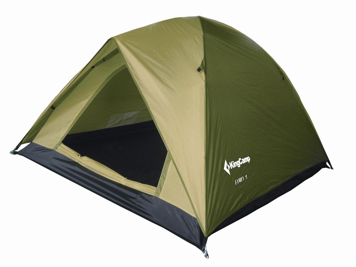 Палатка туристическая King Camp 3073 Family, зеленый