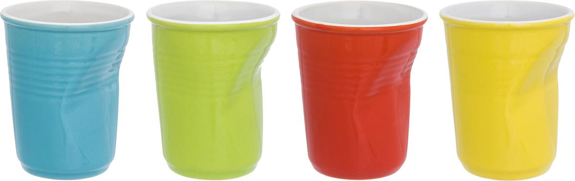 Фото - Набор стаканов Elan Gallery Разноцветные, 200 мл, 4 шт набор стаканов elan gallery разноцветные 4 предмета
