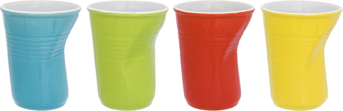 Фото - Набор стаканов Elan Gallery Разноцветные, 320 мл, 4 шт набор стаканов elan gallery разноцветные 4 предмета