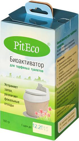 Биоактиватор для торфяных туалетов PitEco, 160 г биотуалет piteco 400 отзывы