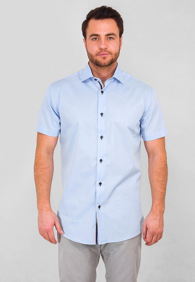 Рубашка Greg рубашка мужская greg horman цвет коричневый синий белый 2 171 20 1386 размер 40 48