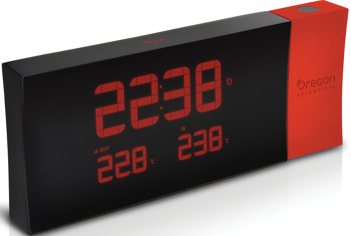Проекционные часы Oregon Scientific часы oregon scientific rrm116 red