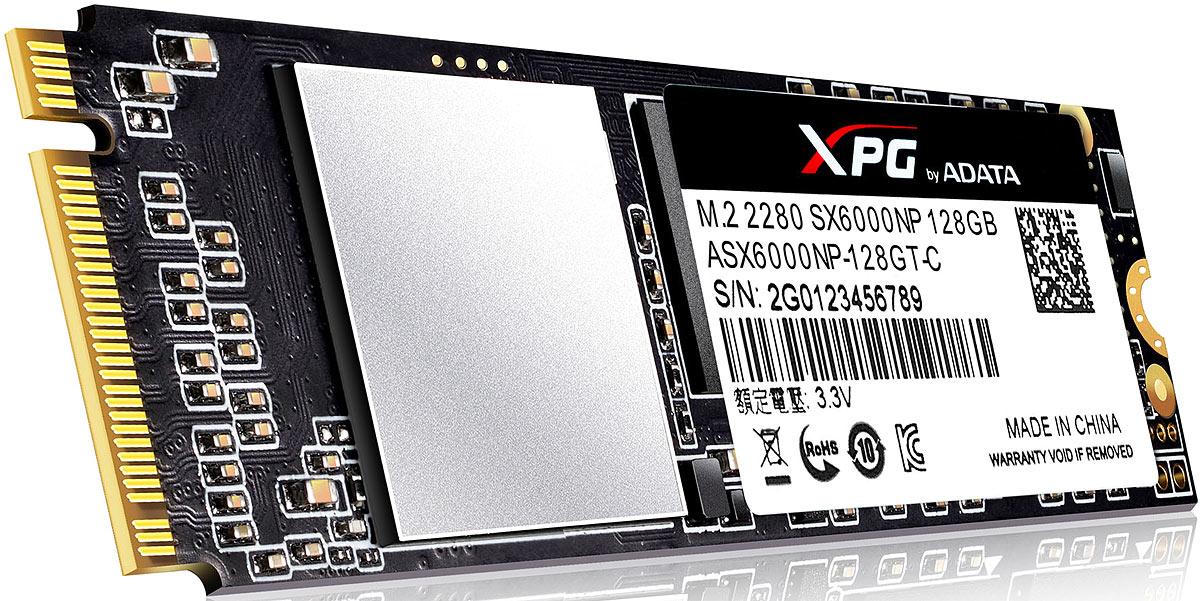 SSDдиск ADATA XPG SX6000 128GB ASX6000NP128GTC