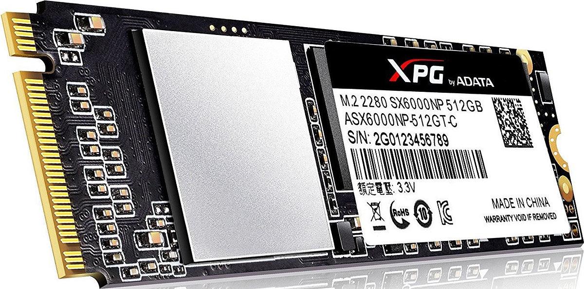 SSDдиск SSD диск ADATA XPG SX6000 512GB ASX6000NP512GTC