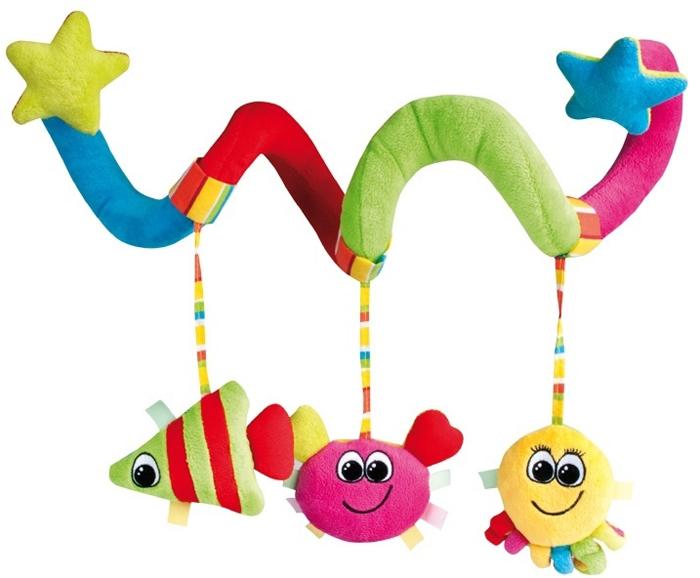 Canpol Babies Игрушка подвесная мягкая Спираль