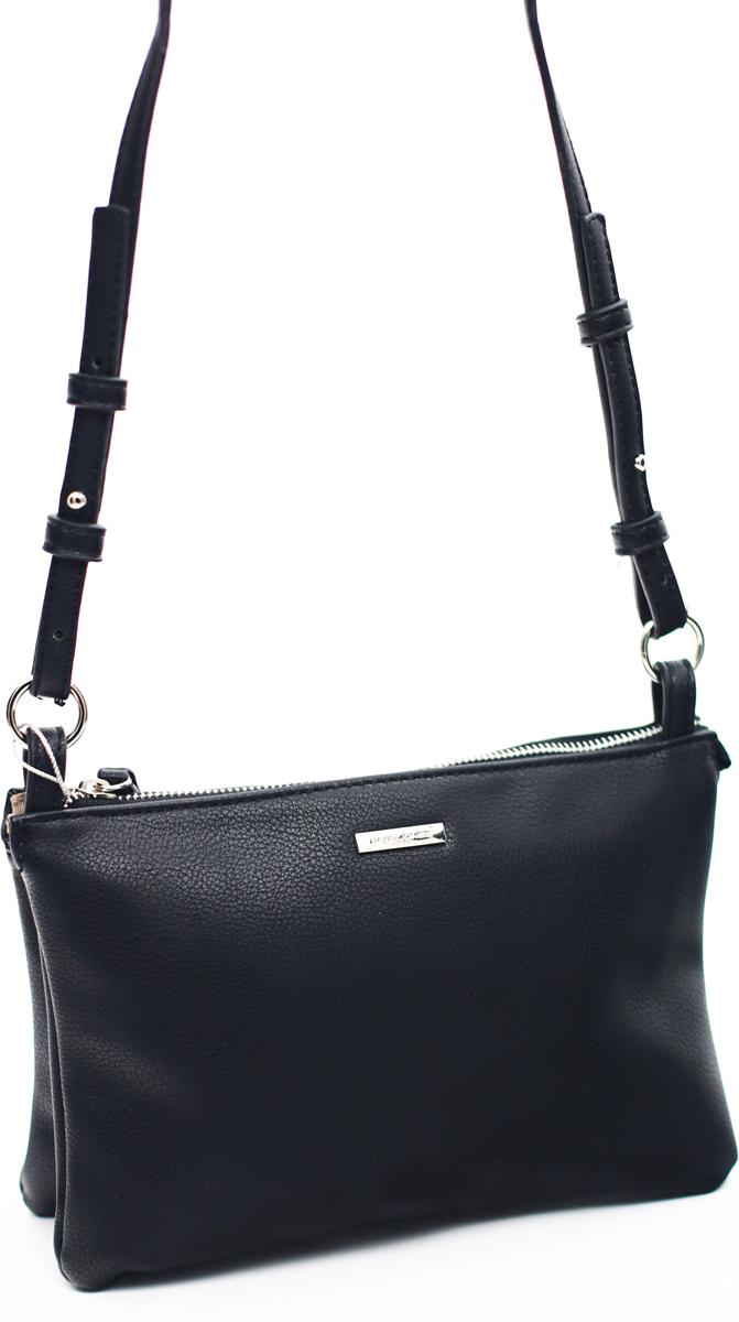 546b7e370f09 Сумка кросс-боди женская David Jones, цвет: черный. СМ3734 — купить в  интернет-магазине OZON.ru с быстрой доставкой