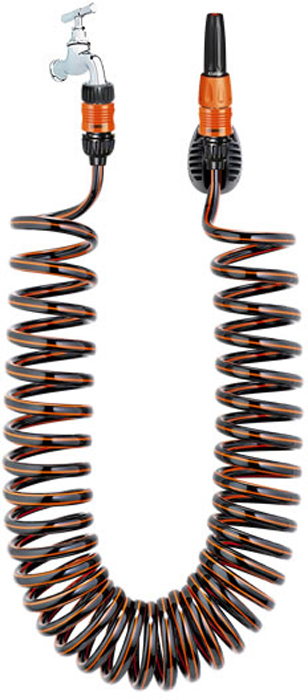 "Шланг спиральный Claber ""Spiral Kit Basic"", диаметр 1/2"", длина 10 м"