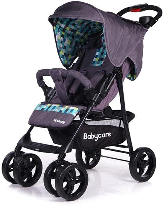 Baby Care Коляска прогулочная Voyager цвет серый коляска baby care voyager green