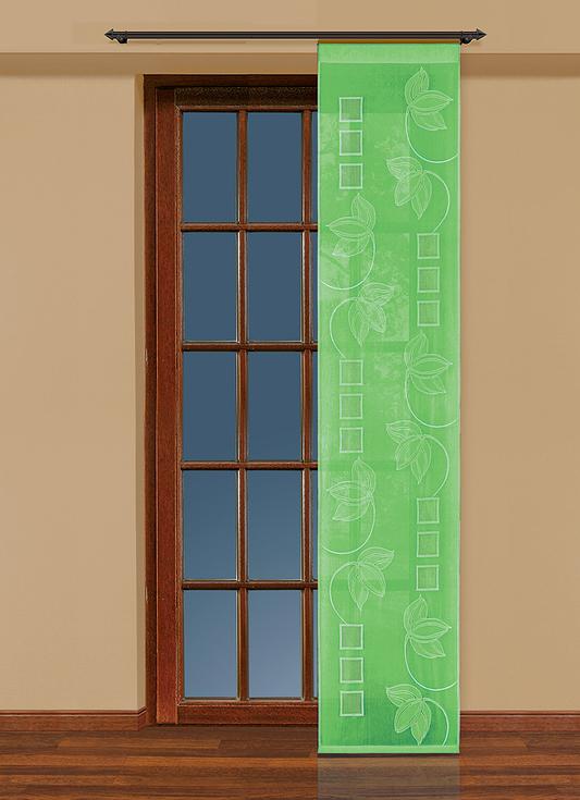 Гардина-панно Haft, на ленте, цвет: салатовый, высота 250 см. 207780 комплект гардин панно haft шторы светлые page 10