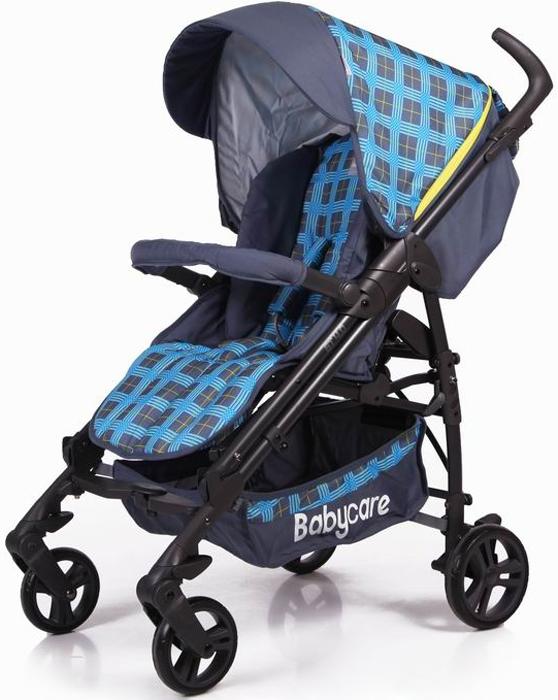 Baby Care Коляска-трость GT4 цвет светло-синий208, светло-синий 17Baby Care GT 4.0 – симбиоз демисезонной прогулочной коляски и коляски-трости. Широкое посадочное место позволяет ребенку чувствовать себя комфортно даже в объемном зимнем комбинезоне. К тому же спинка механически раскладывается до 170 градусов, что вкупе с регулируемой подножкой дают полноценное спальное место. С помощью телескопических ручек можно настроить коляску под рост, что делает ее использование еще более удобным и приятным. К тому же, все тканевые детали легко снимаются для стирки. Капор раскладывается за счет дополнительных секций, скрытых под молнией, может опускаться до бампера. Коляска складывается с помощью механизма, позаимствованного у колясок-тростей, что делает данную модель более компактной в хранении. Особенности: облегченная рама с телескопическими ручками, как у колясок-тростей; спинка регулируется в трех положениях, вплоть до 170 градусов; капюшон легко трансформируется в тент с помощью молний; подножка регулируется в двух положениях, удлиняя спальное место; бампер с мягкой обивкой; все колеса оборудованы пружинными подвесками; передние колеса плавающие с возможностью фиксации; задние колеса с реечным тормозом; 5-точечные ремни безопасности; тканевые детали можно снимать для стирки; вместительная корзина для покупок; коляска компактно складывается тростью. Замок безопасности, который в сложенном виде предохраняет коляску от случайного раскрытия. Комплектация: утепленный чехол на ноги. Рекомендуем!