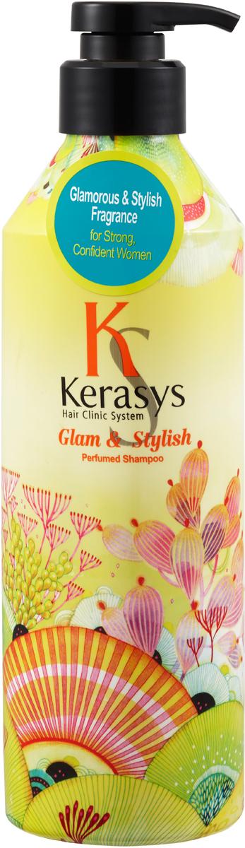 Kerasys Шампунь для волос Гламур, 600 мл кондиционер kerasys для волос оздоравливающий 600 мл