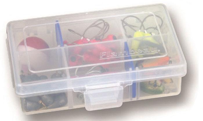 Коробка рыболовная Flambeau Tuff Tainer Zerust, 12,1 х 8,3 х 3,5 см ящик рыболовный flambeau t4p multiloader pro zerust 6310tb