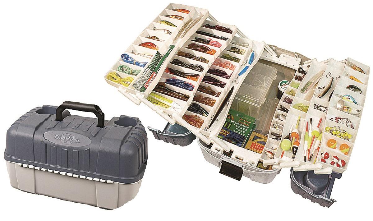 Ящик рыболовный Flambeau Tackle System Hip Roof Box, семиполочный, 49,9 х 29,6 х 27 см ящик рыболовный flambeau t4p multiloader pro zerust 6310tb